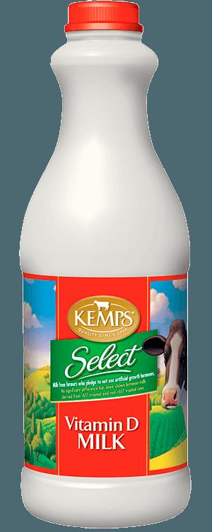Whole Select Milk (Plastic Quart)