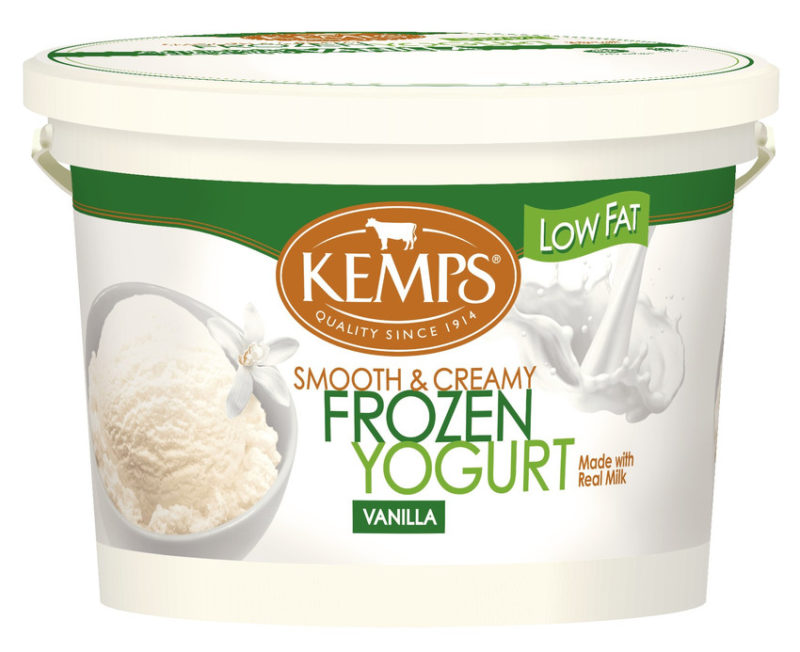 Low Fat Vanilla Frozen Yogurt (132oz. Pail)