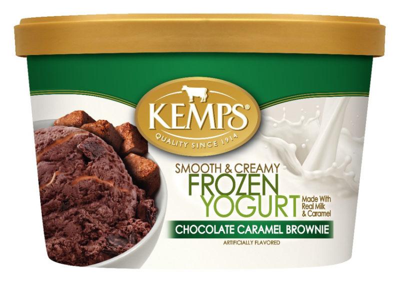 Lowfat Chocolate Caramel Brownie Frozen Yogurt (1.5qt.)