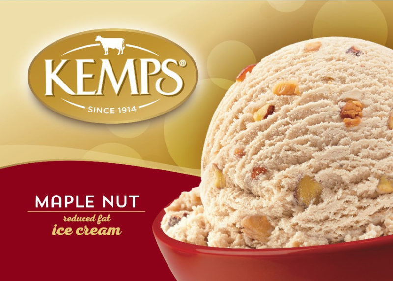 (56 oz.) Maple Nut Reduced Fat Ice Cream