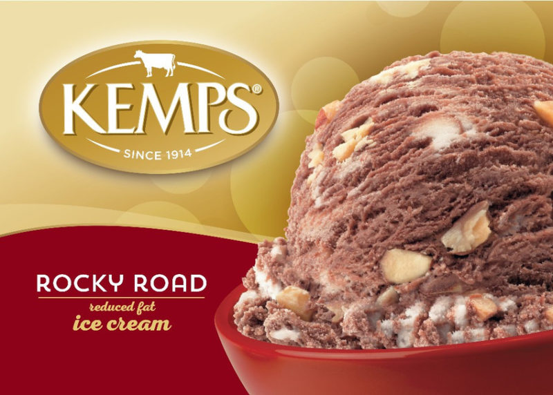 (56 oz.) Rocky Road Reduced Fat Ice Cream