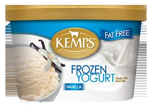 Fat Free Vanilla Frozen Yogurt (1.5qt.)