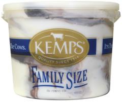 (132 oz. Pail) Chocolate Swirl Reduced Fat Ice Cream