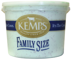 (132 oz. Pail) Mint Chocolate Chip Reduced Fat Ice Cream