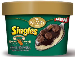 Singles Moose Tracks Ice Cream (6 oz.)