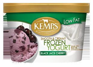 Low Fat Black Jack Cherry Frozen Yogurt (1.5qt.)