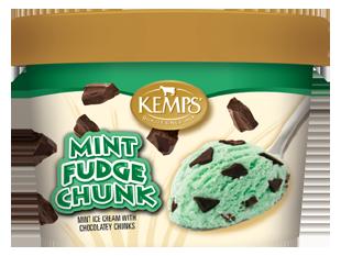 Singles Mint Chocolate Chunk Ice Cream (6 oz.)
