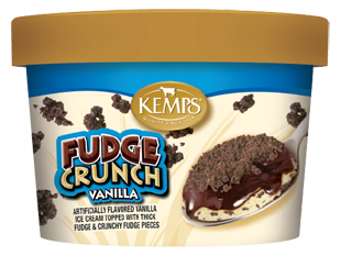 Singles Vanilla Fudge Crunch Ice Cream (6 oz.)
