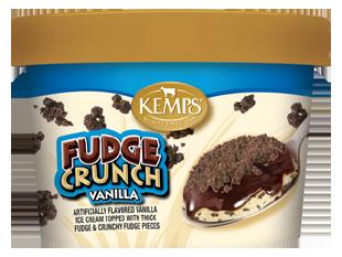 Singles Vanilla Fudge Crunch Ice Cream (6 oz.)