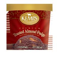 (Pint) Toasted Almond Fudge Ice Cream