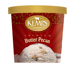 (Pint) Butter Pecan Ice Cream