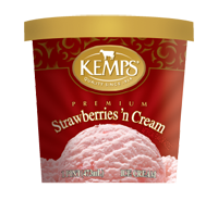 (Pint) Strawberry Ice Cream
