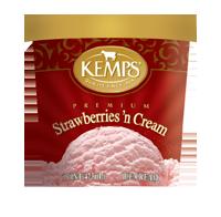 (Pint) Strawberry Ice Cream