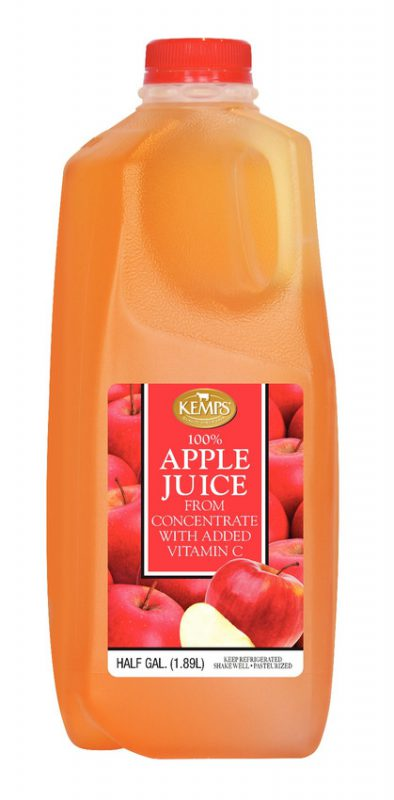 Apple Juice Half Gallon