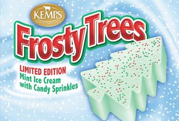 Seasonal Frosty Trees  (6 pack)