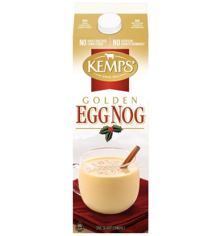 Golden Egg Nog Quart