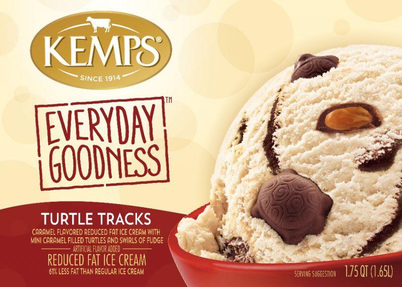 (56 oz.) Turtle Tracks Reduced Fat Ice Cream