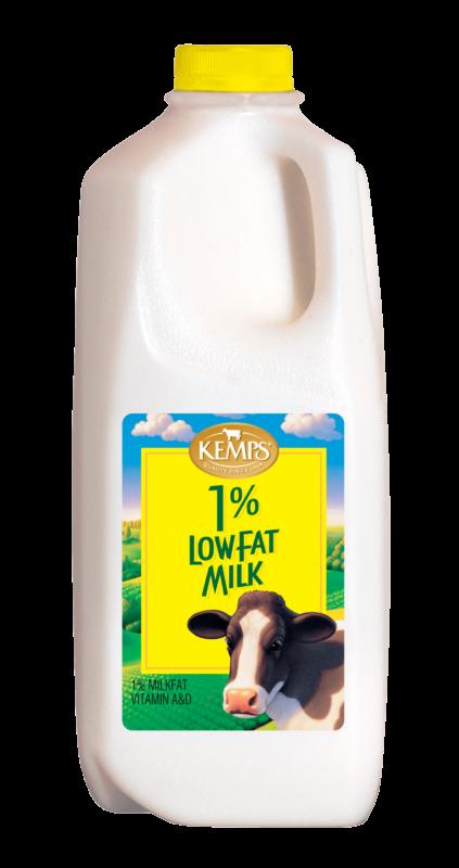 1% Lowfat Milk (Plastic Half Gallon)