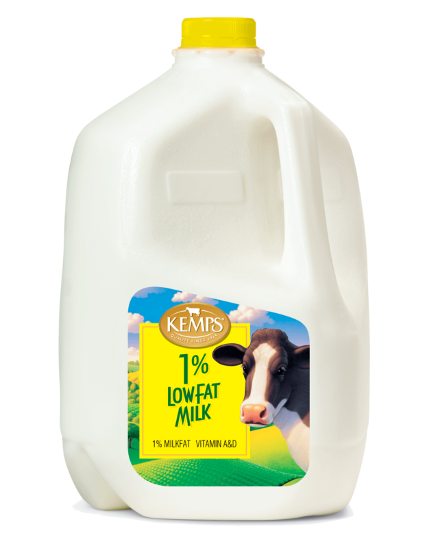 1% Low Fat Milk (Plastic Gallon)