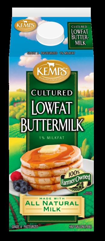 Buttermilk (Paper Half Gallon)