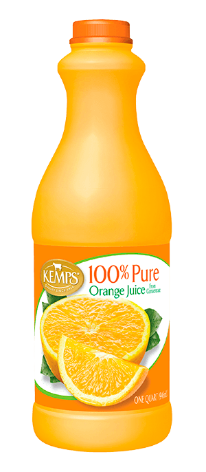 Orange Juice (Plastic Quart)