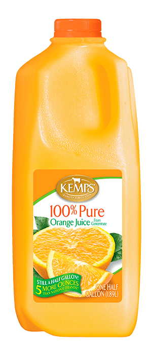 Orange Juice (Plastic Half Gallon)