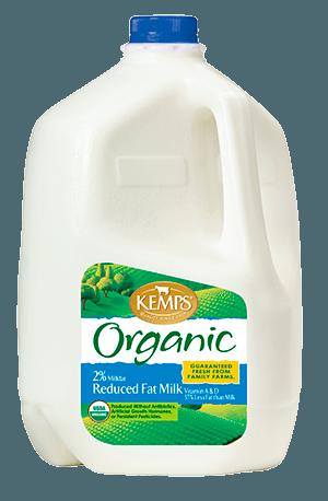 Organic 2% Reduced Fat Milk (Plastic Gallon)