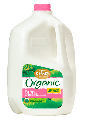 Organic Fat Free Skim Milk (Plastic Gallon)