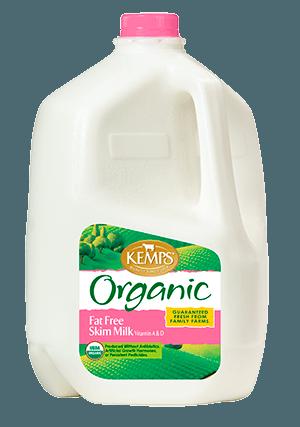 Organic Fat Free Skim Milk (Plastic Gallon)