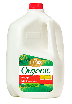 Organic Whole Milk (Plastic Gallon)