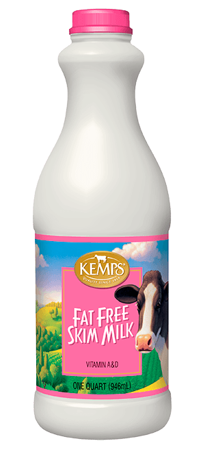 Fat Free Skim Milk (Plastic Quart)