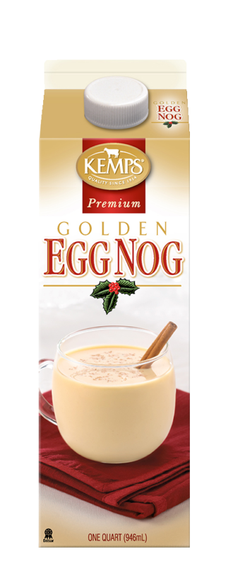 Premium Golden Egg Nog (Paper Quart)