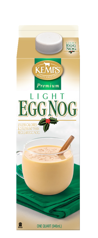 Premium Light Egg Nog (Paper Quart)
