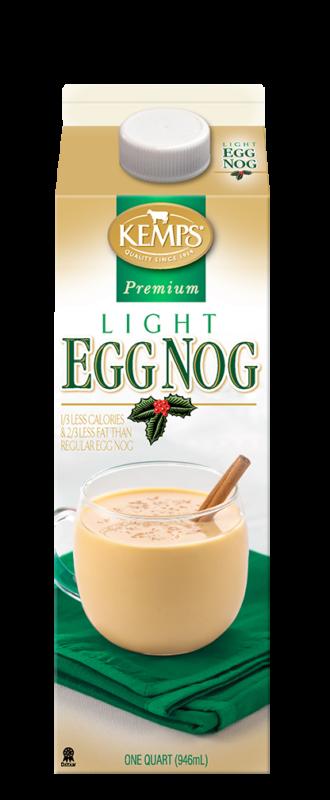 Premium Light Egg Nog (Paper Quart)