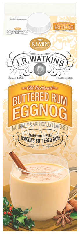 J.R. Watkins Buttered Rum Egg Nog (Paper Quart)