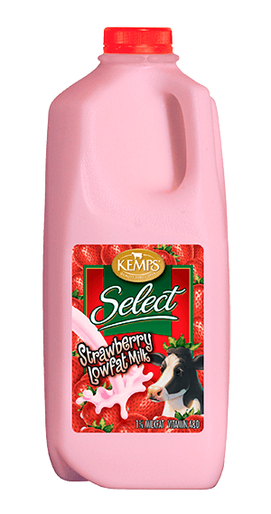 Strawberry 1% Low Fat Select Milk (Plastic Half Gallon)