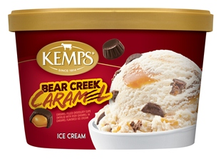 (1.5 qt.) Bear Creek Caramel Ice Cream