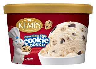 (1.5 qt.) Pillsbury Chocolate Chip Cookie Dough Ice Cream