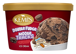 (1.5 qt.) Moose Tracks Double Fudge Ice Cream