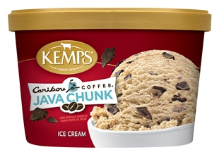 (1.5 qt.) Caribou Coffee Java Chunk Ice Cream