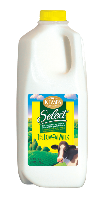 1% Lowfat Select Milk (Plastic Half Gallon)