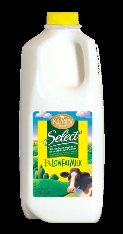 1% Low Fat Select Milk (Plastic Half Gallon)