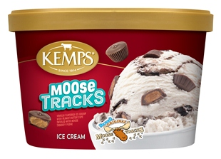 (1.5 qt.) Moose Tracks Ice Cream
