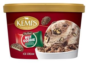 (1.5 qt) Pearson's Nut Goodie Ice Cream