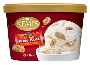(1.5 qt) Pearson's Salted Nut Roll Ice Cream
