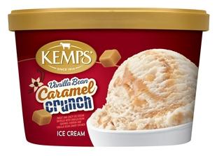 (1.5 qt.) Vanilla Bean Caramel Crunch Ice Cream