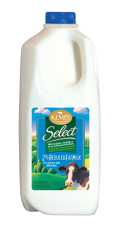 2% Reduced Fat Select Milk (Plastic Half Gallon)