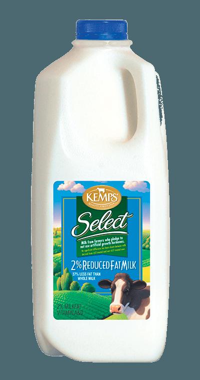 2% Reduced Fat Select Milk (Plastic Half Gallon)