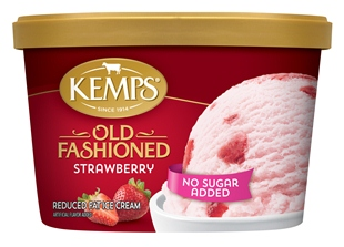 (1.5 qt.) No Sugar Added Strawberry Ice Cream