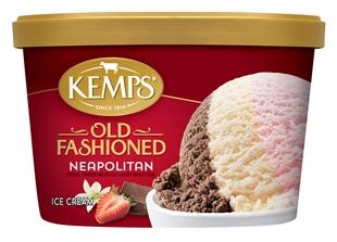 (1.5 qt.) Old Fashioned Neapolitan Ice Cream